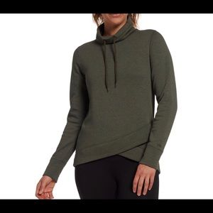 DSG Women's Tulip Hem Funnel Neck Sweatshirt